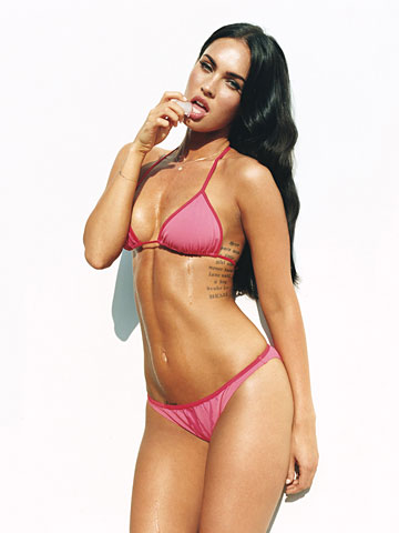 megan fox hot picture bikini and panties
