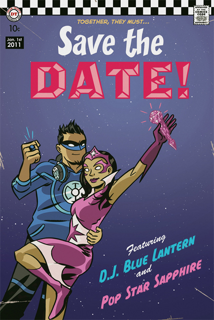 Kadee\'s blog: We 39ve shown you comicstyle invitations and a comic ...