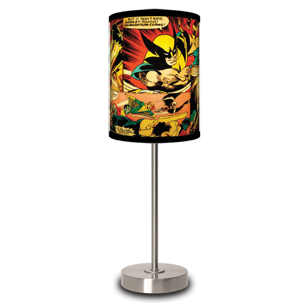 marvel comics table lamp