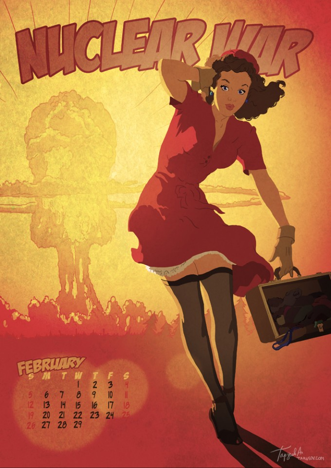 apocalyptic pin up