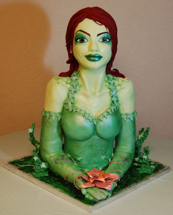 poison ivy cake