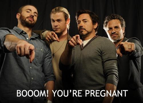 wow really super boom you're pregnant