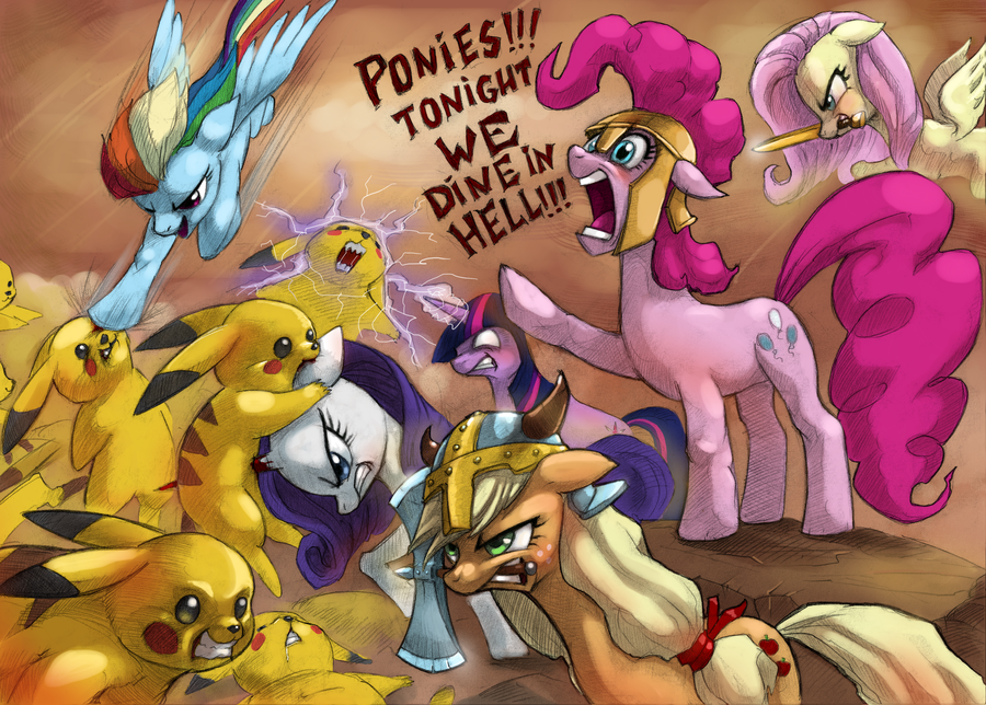 my little pony vs pokemon