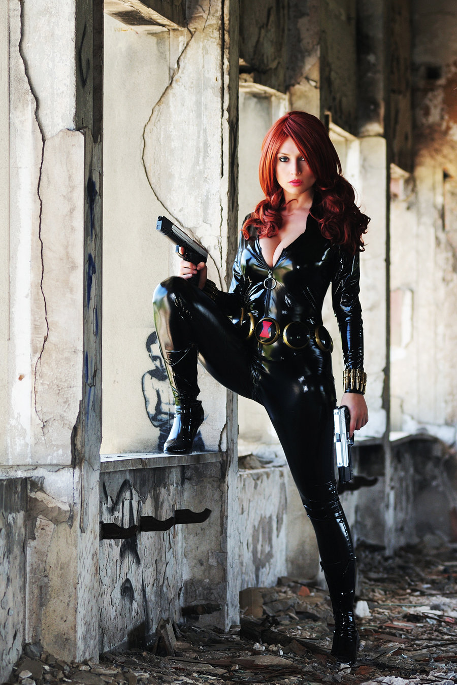 black widow cosplay