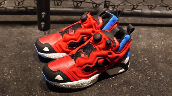 reebook spider-man insta pump